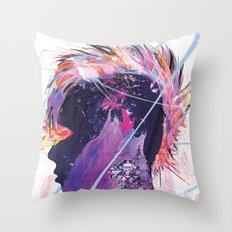 Howling Throw Pillow