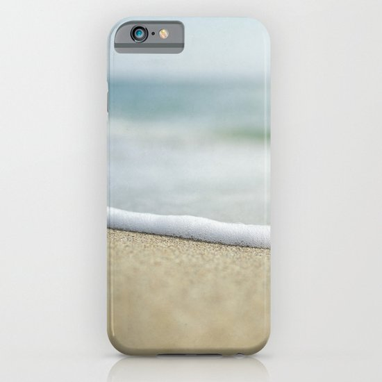Sea Foam Beach iPhone & iPod Case