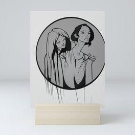 Sewn Mini Art Print