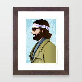 Richie Tenenbaum Framed Art Print