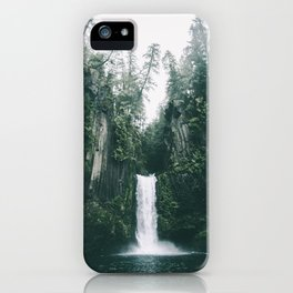 Toketee Falls iPhone Case