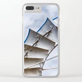 Prairie Pinwheel Clear iPhone Case