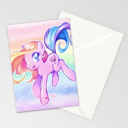 Cute Kawaii Toola Roola My Little Pony Fan Art Stationery Cards