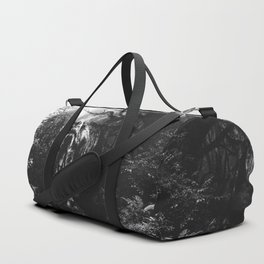 Black and white Jurassic period Duffle Bag