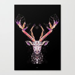 black deer Canvas Print