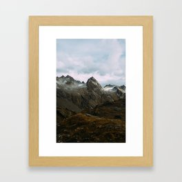 Hatcher Pass, Alaska Framed Art Print
