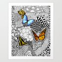 Tangled Butterfly by julieerindesigns