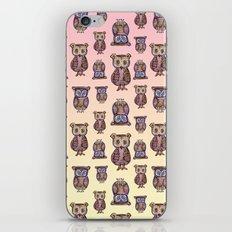 Owl pattern iPhone & iPod Skin