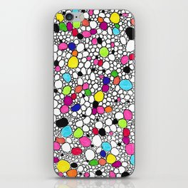 Circles and Other Shapes and colors iPhone Skin