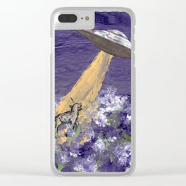 Abduction of the Delighted Lamb Clear iPhone Case