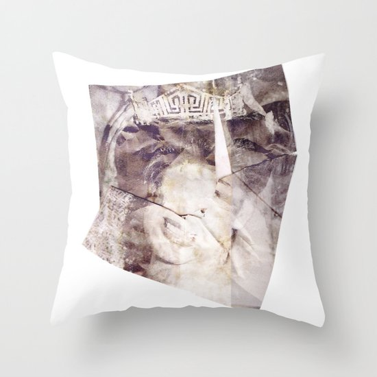 Your Time is Over Throw Pillow
