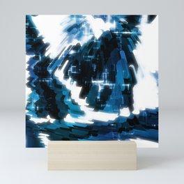 Electric Wave Mini Art Print