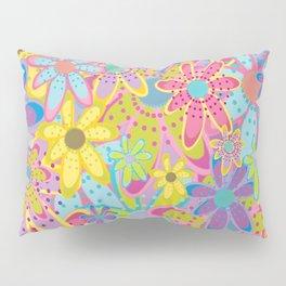 Flowers Print Pillow Sham