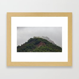 Maui Mountain Tops Framed Art Print