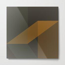 Nordic Geometry No. 5 Metal Print