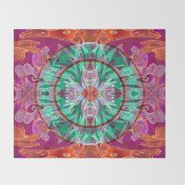 Boujee Boho Queen Mandala Throw Blanket
