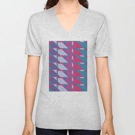 Abstract Drama #society6 #violet #pattern Unisex V-Neck