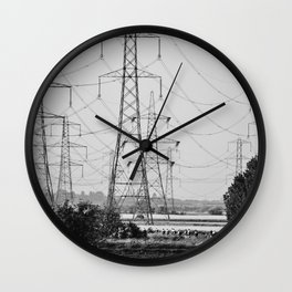 Power Riders Wall Clock
