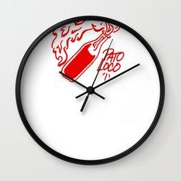 PL Logo II Wall Clock