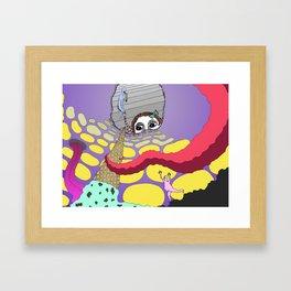 We All Scream for Ice Cream Framed Art Print
