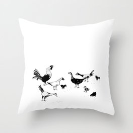 Island Life Series: Alarm Clock Throw Pillow