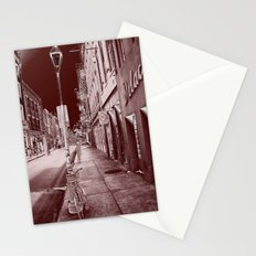 Red and Black New Orleans Stationery Cards