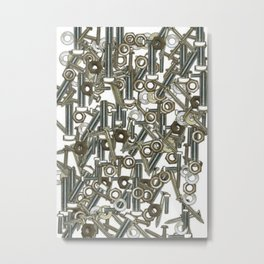 Nuts & Bolts Metal Print