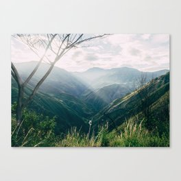 Light in the Mountains Canvas Print