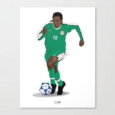 Jay Jay Okocha - Country - Nigeria 1998  Canvas Print