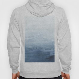 Indigo Abstract Painting | No. 5 Hoody