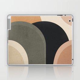 abstract minimal sunrise Laptop & iPad Skin