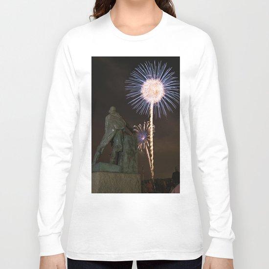 Fisherman's Memorial fireworks Long Sleeve T-shirt