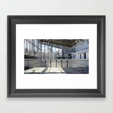Chernobyl - басейн Framed Art Print