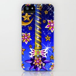 Fusion Keyblade Guitar #164 - Starlight & Star Seeker iPhone Case