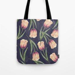 Tulipa pattern 4.3 Tote Bag