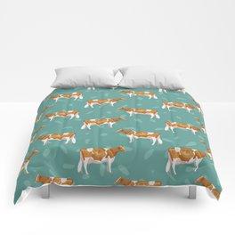 Guernseys // Spruce Comforters