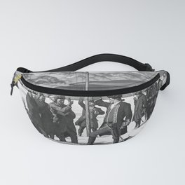 retro vintage Pittsburgh poster Fanny Pack