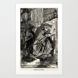 A Beastly Scourge? Art Print