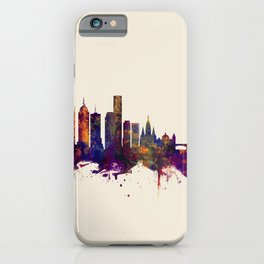 Melbourne Skyline iPhone Case
