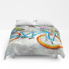 Cheerful Ride Comforters