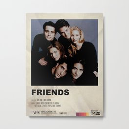 The One with the old VHS Metal Print