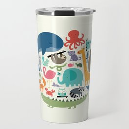 We Are One Travel Mug