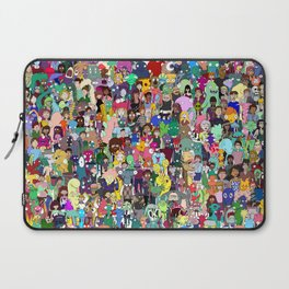 1000Characters Laptop Sleeve