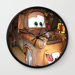 Tow Mater Wall Clock