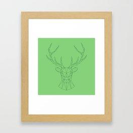 Poly-Stag Framed Art Print