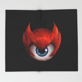 The Eye of Rampage Throw Blanket