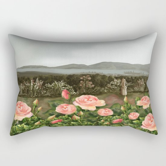 Le Rose Rectangular Pillow