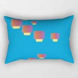 festival of lamps Rectangular Pillow