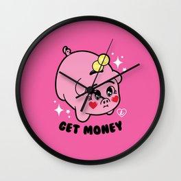 Get Money - Piggy Bank - Sailor Moon Wall Clock