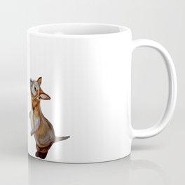 Child and Small Kangaroo (Watercolour) Coffee Mug